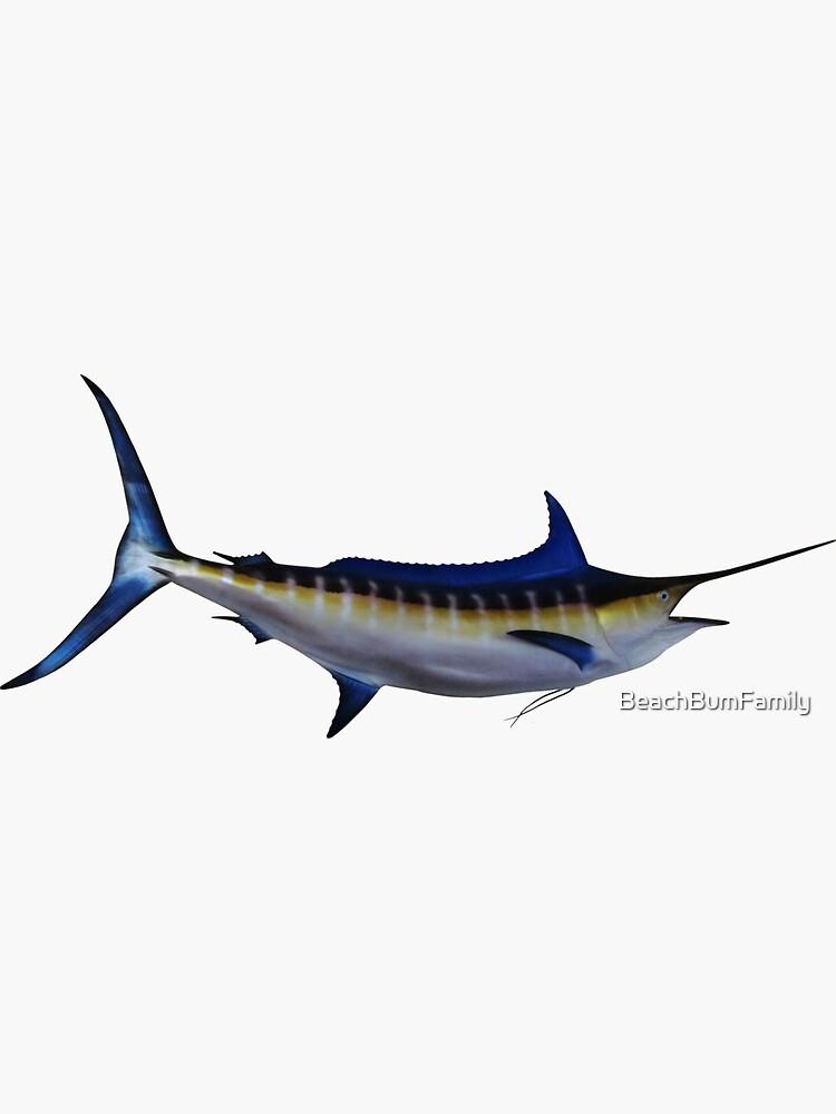 Blue Marlin Fish by BeachBumFamily