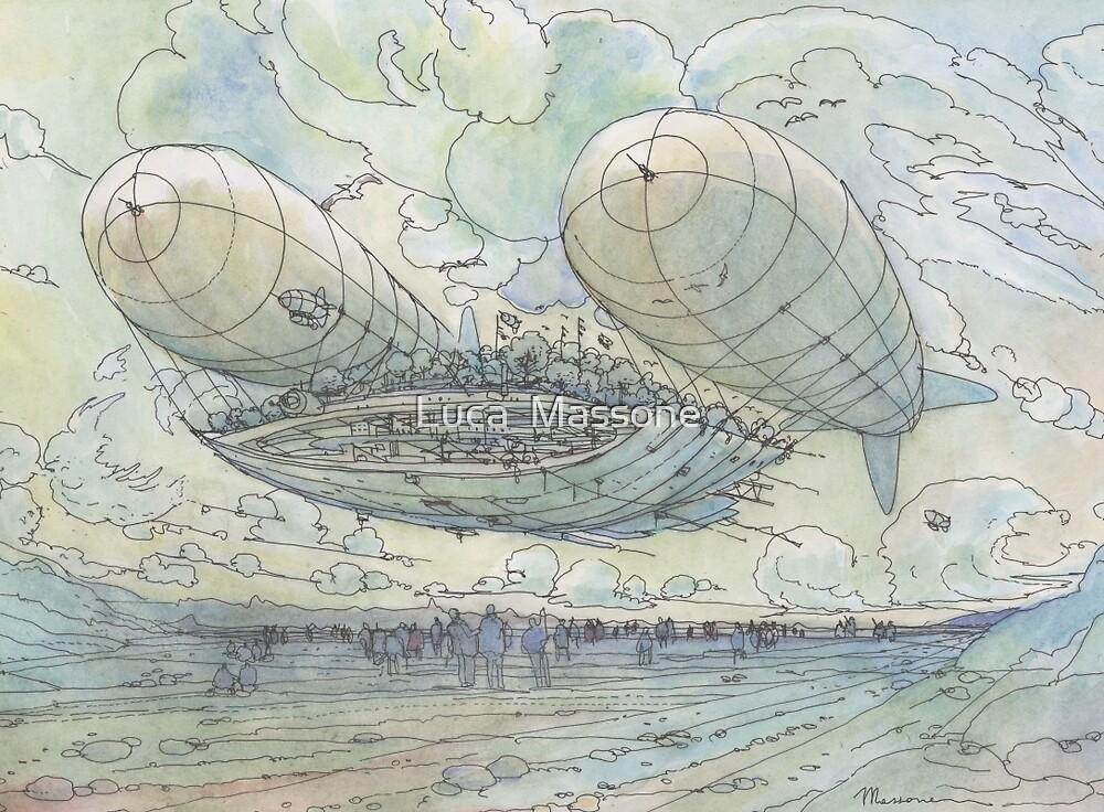 Il Tappeto Volante! by Luca Massone  disegni