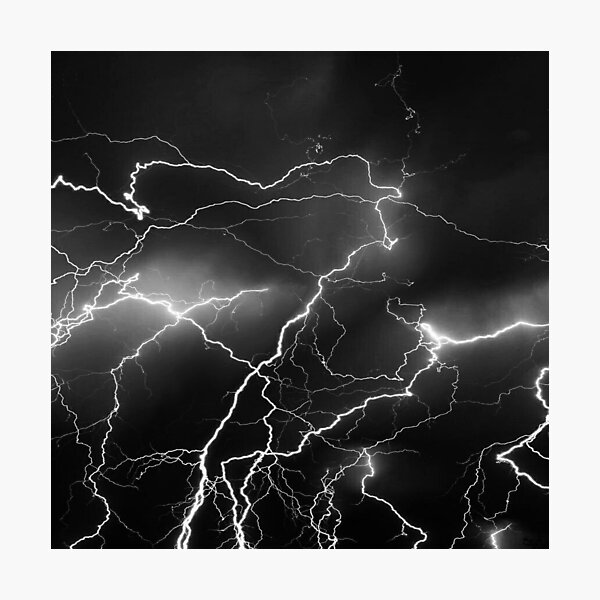Lightning Photographic Print