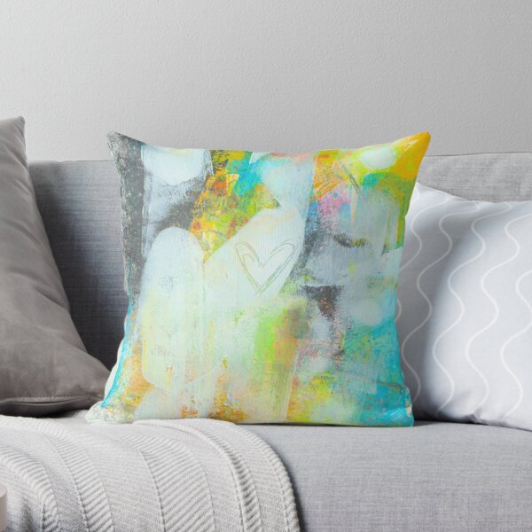 A SINGLE HEART Throw Pillow