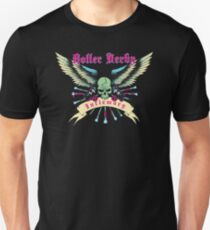Roller Derby Infirmary (Now In Full Color!) Unisex T-Shirt
