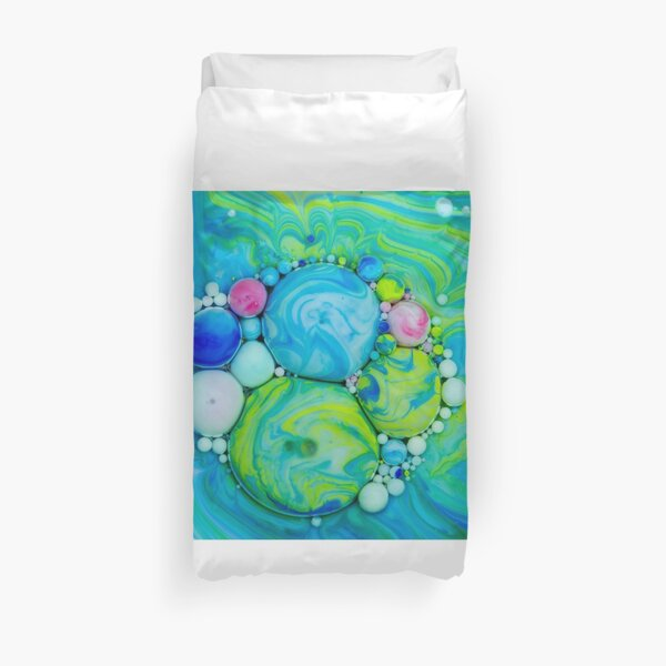 Bubbles Art Dionysus Duvet Cover