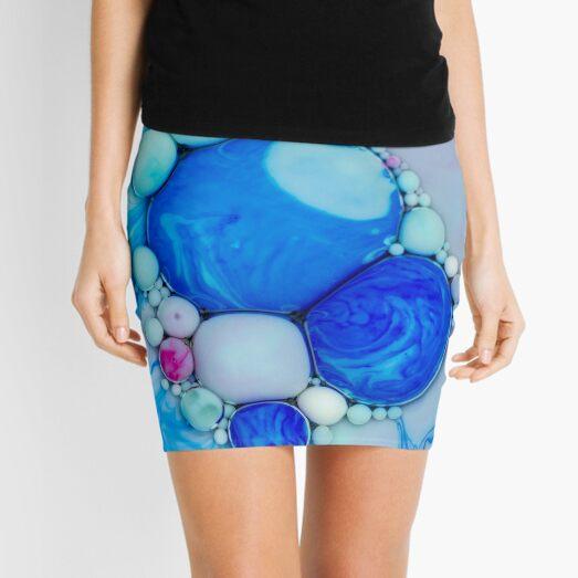 Bubbles Art Demeter Mini Skirt