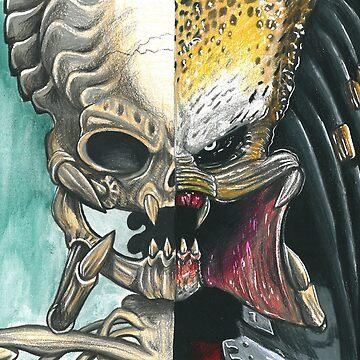 Predator Skull by kzenabi