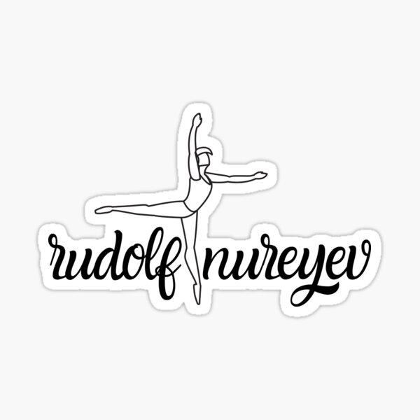 Rudolf Nureyev ballet legend Sticker