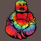 Tie-Dye Buddha 2 by Catherine Isla