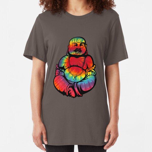 Tie-Dye Buddha 2 Slim Fit T-Shirt