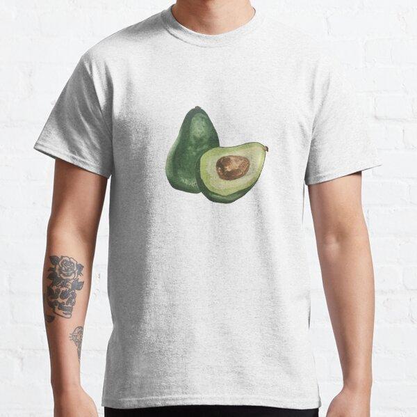 Avocados - black Classic T-Shirt