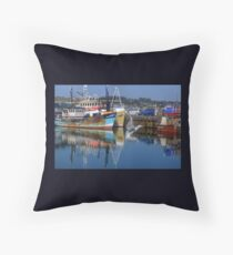 A Gull Flew By........... Throw Pillow