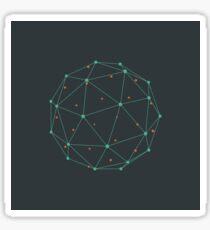 Triangular ball Sticker