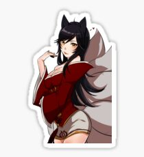 Ahri from League of Legend Sticker