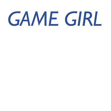Game Girl by johnperlock