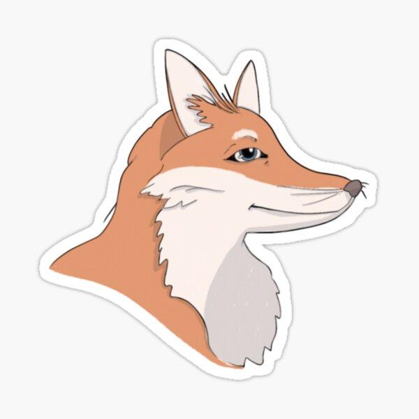 Sly Fox Sticker  Sticker