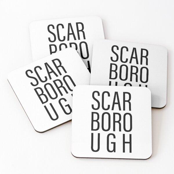 Scarborough neighborhood Coasters (Set of 4)