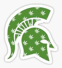 MSU Weed Spartan Sticker