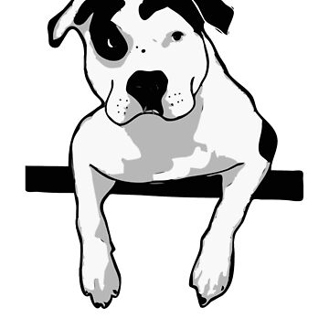 Pit Bull T-Bone Graphic  by HisRuin