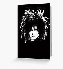 Siouxsie Sioux Greeting Card