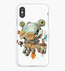 Codsworth - Two Centuries Late for Dinner iPhone Case/Skin