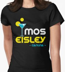 Mos Eisley Cantina Womens Fitted T-Shirt
