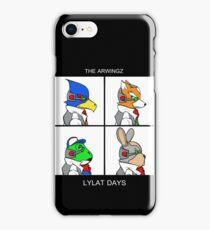 The Arwingz -Lylat Days- iPhone Case/Skin