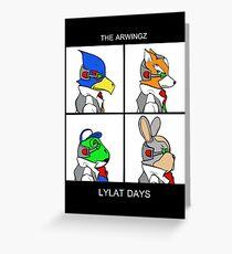 The Arwingz -Lylat Days- Greeting Card