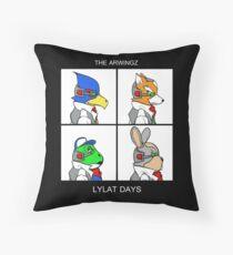 The Arwingz -Lylat Days- Throw Pillow