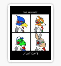 The Arwingz -Lylat Days- Sticker