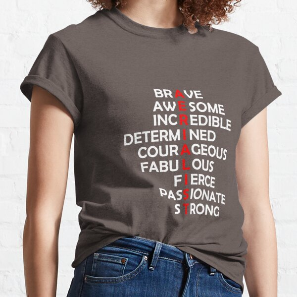 Aerialist Acrostic  Classic T-Shirt