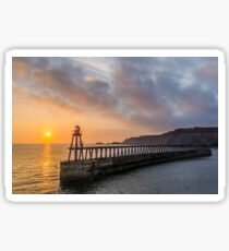 Whitby Harbour East Wall Sticker