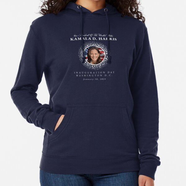 Vice-President Kamala D. Harris Inauguration Day January 20, 2021 Lightweight Hoodie