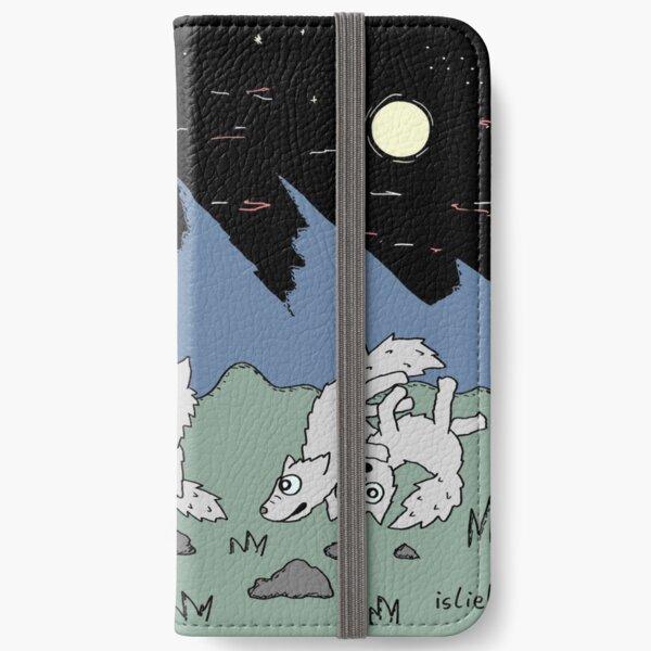 Wolfsrudel iPhone Flip-Case
