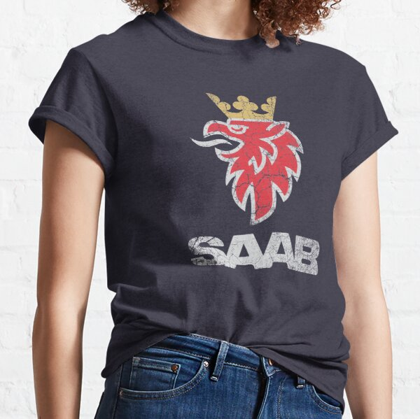 SAAB Vintage Grunge Logo Classic T-Shirt