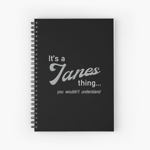 It's a Ianes Thing Spiral Notebook