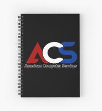 America Computer Services  Spiral Notebook