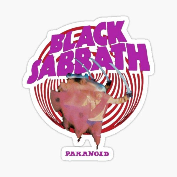Purple Black Paranoid Sticker