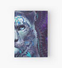 Snow Leopard Hardcover Journal