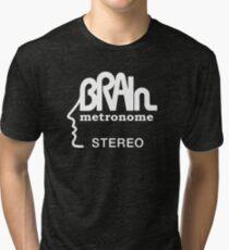 Brain Metronome Krautrock Stereo Tri-blend T-Shirt