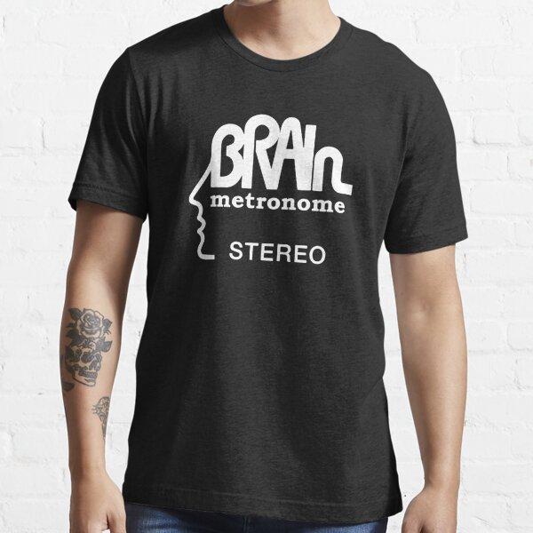 Brain Metronome Krautrock Stereo Essential T-Shirt