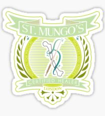 St. Mungo's Certified Healer Sticker