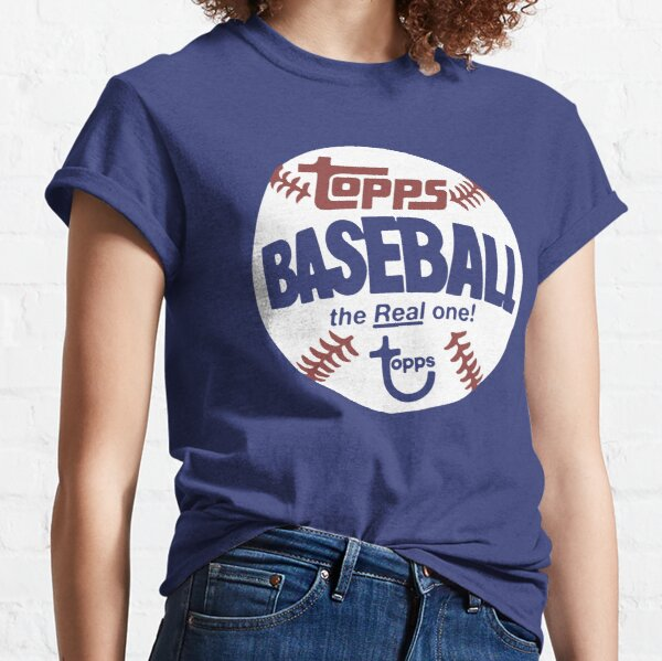 Topps Baseball Vintage Style The Real One Classic T-Shirt