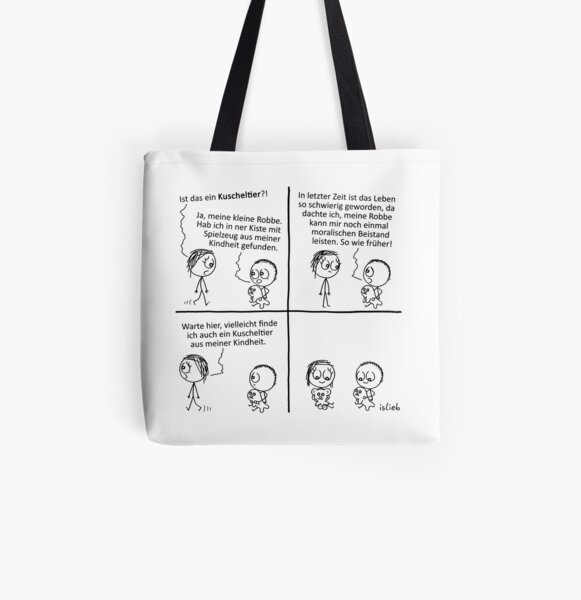 Robbe Allover-Print Tote Bag