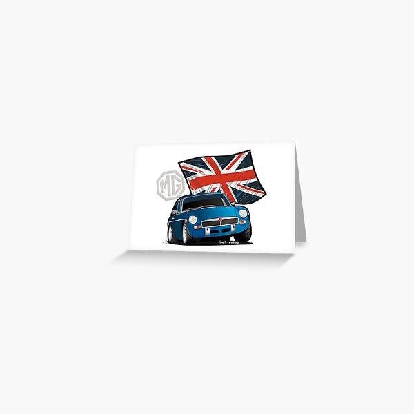 Toon-MG Greeting Card