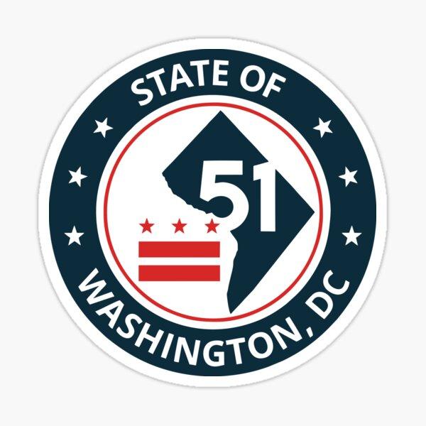 BEST TO BUY - DC 51st State  Sticker