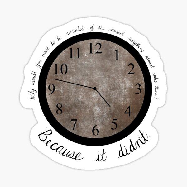 Bones TV Show Quote Sticker - Finale  Sticker