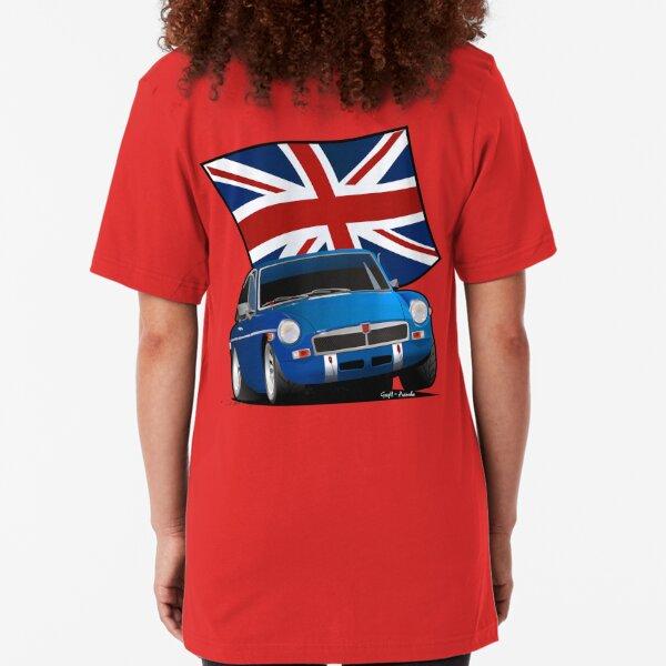 British Sports Car _ MG Slim Fit T-Shirt