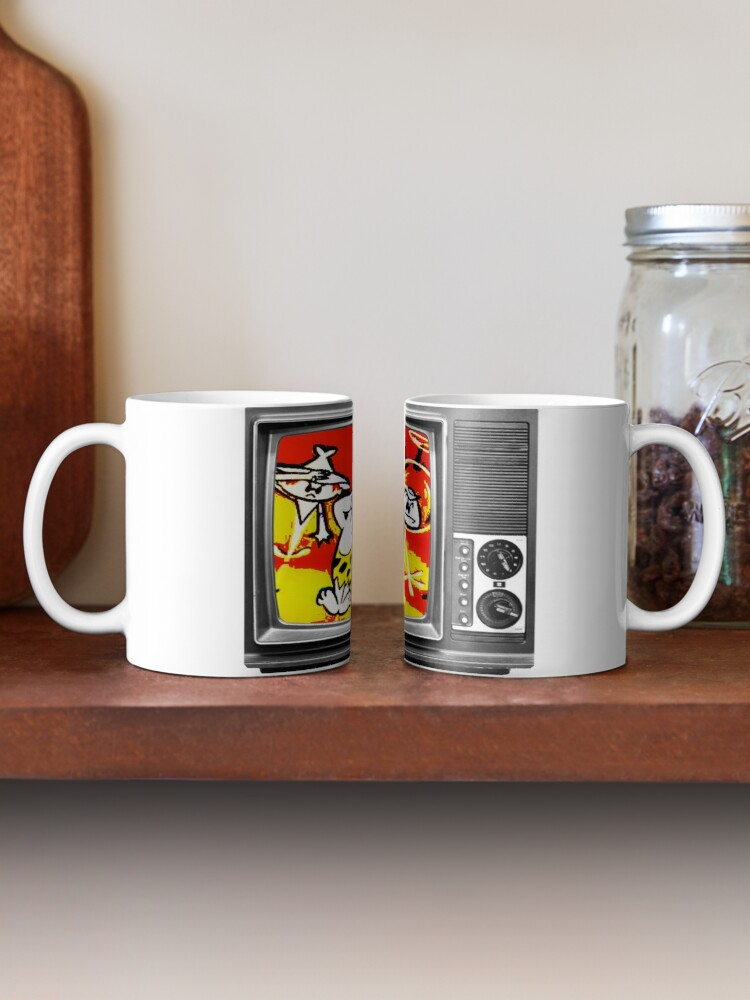 Alternate view of First In Color, Colonel Bleep , The First Color For TV Cartoon. Mug