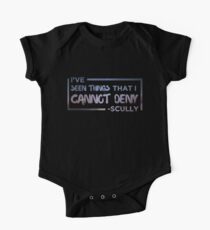 I've Seen Things That I Cannot Deny (Scully/X-Files) One Piece - Short Sleeve