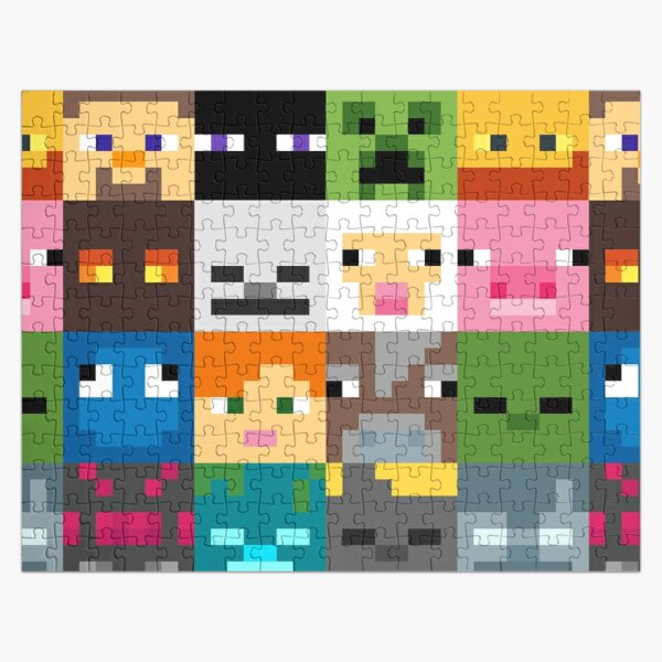 Minecraft 2 puzzle and more. Jigsaw Puzzle