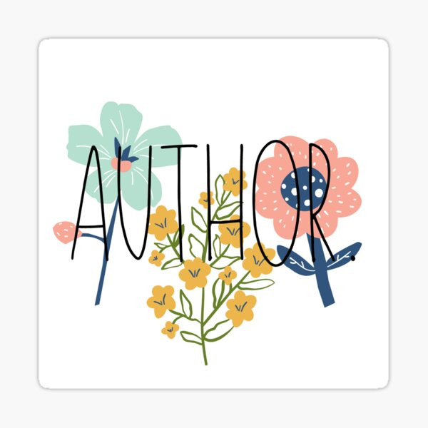 AUTHOR Sticker