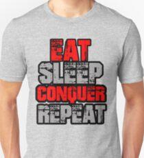 Eat Sleep Conquer Repeat T-Shirt